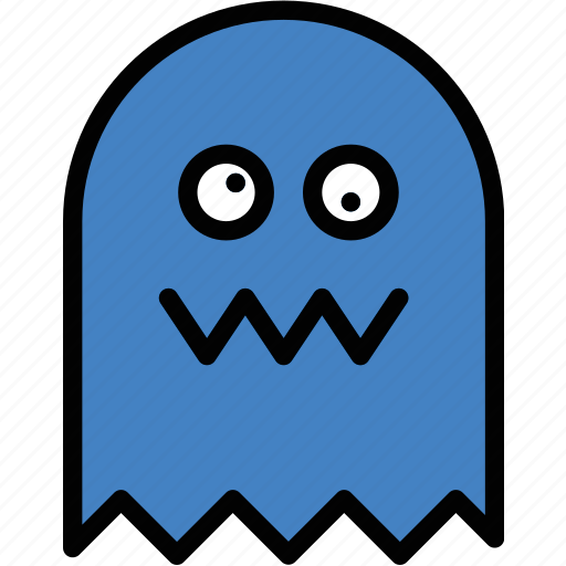 fun, games, ghost, pacman, play icon