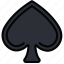 fun, games, play, spades icon