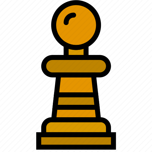 fun, games, pawn, play icon