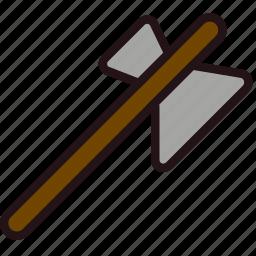 axe, fun, games, minecraft, play icon