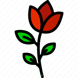 flower, garden, plant, rose, soil icon
