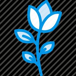 flower, garden, plant, rose, soil icon