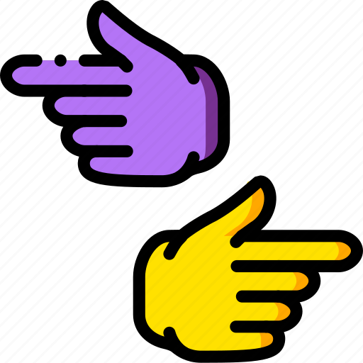 finger, gesture, hand, interaction icon