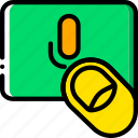 finger, gesture, hand, interaction, use, voice icon