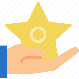 award, finger, gesture, give, hand, interaction icon