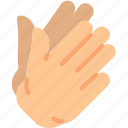 clapping, finger, gesture, hand, interaction icon