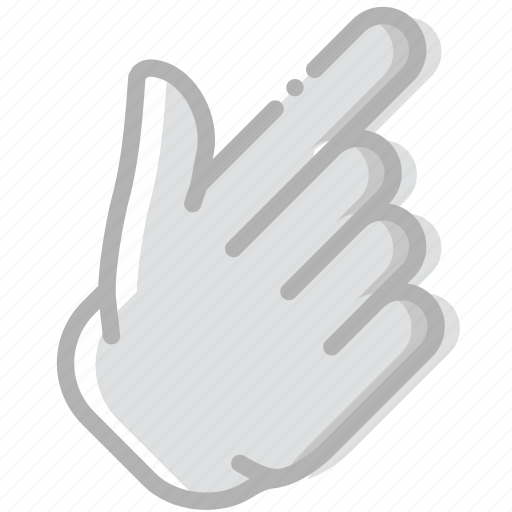 diagonal, finger, gesture, hand, interaction, show icon