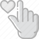 finger, gesture, hand, interaction, like icon