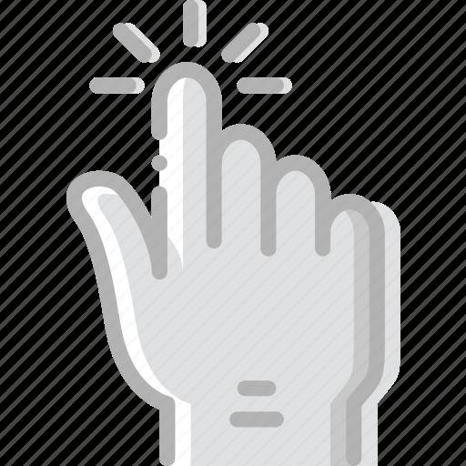 finger, gesture, hand, interaction, pinch icon