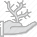cactus, finger, gesture, give, hand, interaction icon