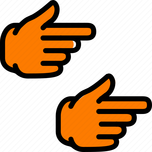 finger, gesture, hand, interaction, right, show icon