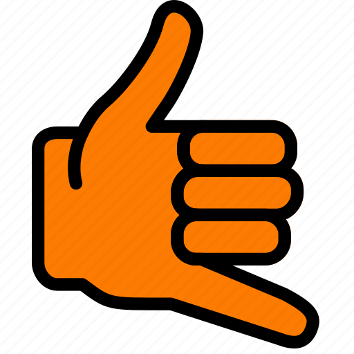 call, finger, gesture, hand, interaction icon