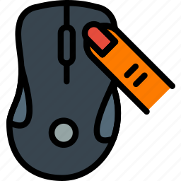 click, finger, gesture, hand, interaction, mouse, right icon