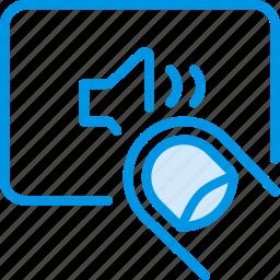 finger, gesture, hand, interaction, medium, volume icon