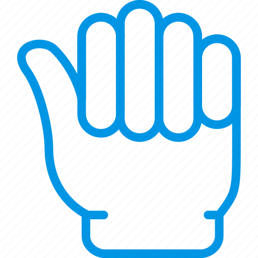 finger, gesture, hand, interaction, one icon