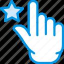 favorite, finger, gesture, hand, interaction icon