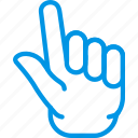 finger, fingers, gesture, hand, interaction, two