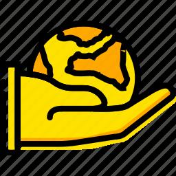 domination, finger, gesture, hand, interaction, world icon