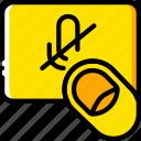 delete, finger, gesture, hand, interaction, voice icon