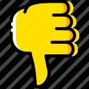 bad, finger, gesture, hand, interaction