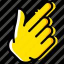 diagonal, finger, gesture, hand, interaction, show