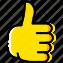 finger, gesture, good, hand, interaction