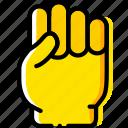 finger, gesture, hand, interaction