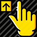 finger, gesture, hand, interaction, upload
