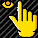 finger, gesture, hand, hide, interaction