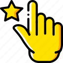 favorite, finger, gesture, hand, interaction