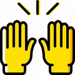 finger, gesture, hand, hands, interaction, up icon