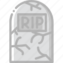 grave, holidays, stone, travel icon