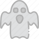 ghost, holidays, travel icon
