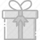 gift, holidays, travel icon