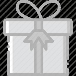 gift, holidays, travel icon