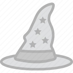 hat, holidays, travel, wizard icon