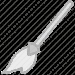 broom, holidays, travel icon