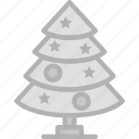 christmas, holidays, travel, tree icon