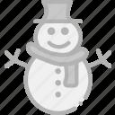 holidays, snowman, travel