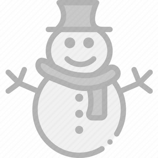 holidays, snowman, travel icon