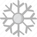 holidays, snowflake, travel icon