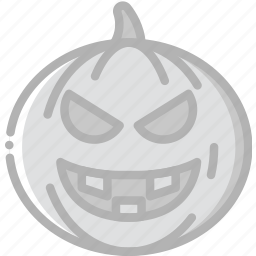 evil, holidays, pumpkin, travel icon