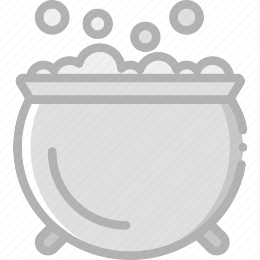 bubbling, cauldron, holidays, travel icon