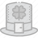 hat, holidays, leprechaun, travel icon
