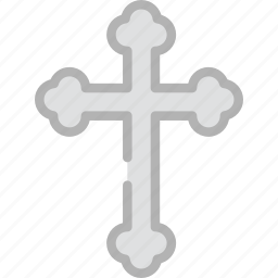 cross, holidays, travel icon