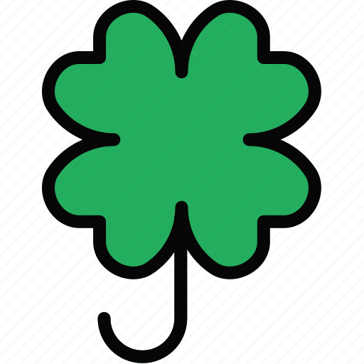clover, holidays, relax, travel icon
