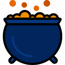 bubbling, cauldron, holidays, relax, travel icon