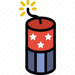 firecraker, holidays, relax, travel icon