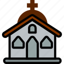 church, holidays, relax, travel icon