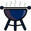 barbeque, holidays, relax, travel icon